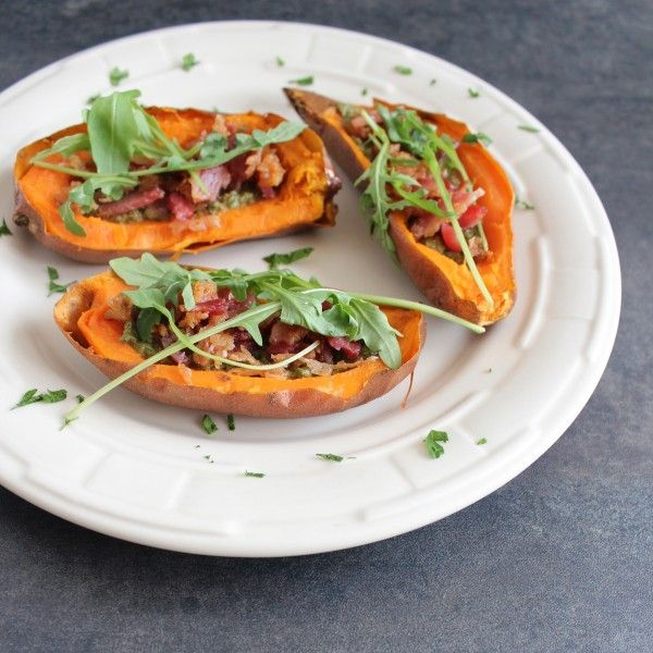 potato skins potato skins sweet sweet potato skins with bacon and brie ...