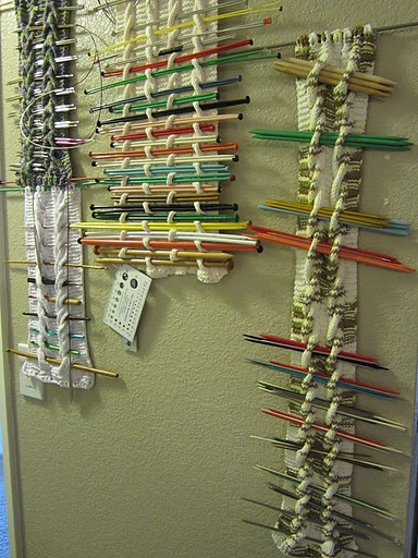 How To Store Knitting Needles : Needle storage knitted cable panels knit accessories