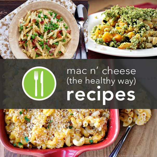 Healthy Mac and Cheese Recipes from Around the Web
