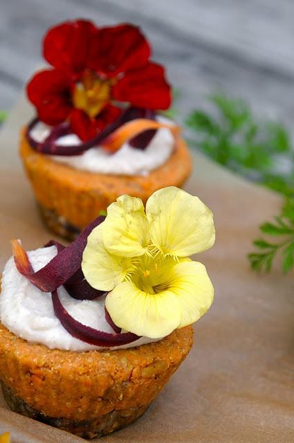 Raw carrot cardamom cupcakes   food   Pinterest