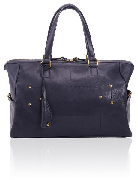 Dreyfuss Georges Navy Blue Lambskin from MRS H OUTLET | DISCOUNT