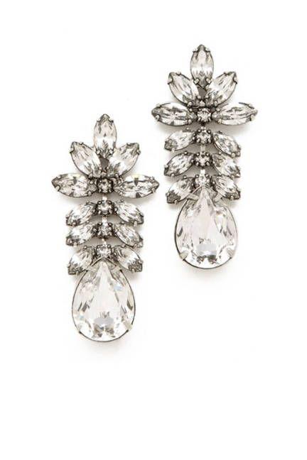 Heirloom-esque sparklers from Tom Binns #earrings