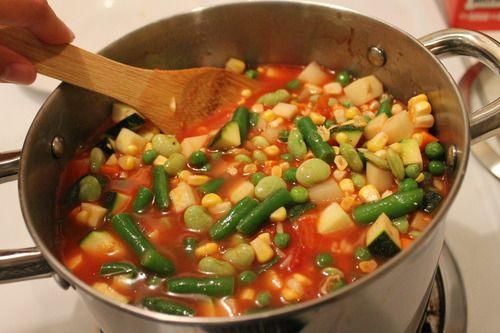 Easy Vegetable Soup | Fooood Yummmmmm | Pinterest