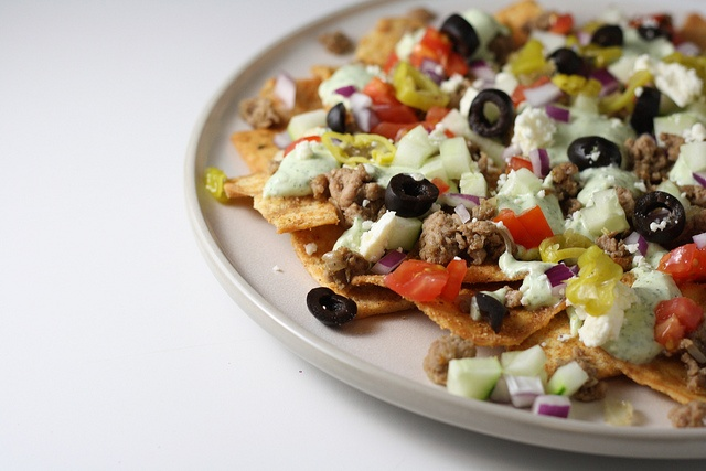 Greek Nachos | food | Pinterest