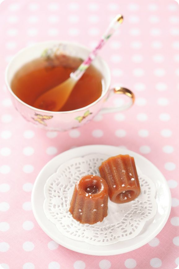 Fleur de Sel Caramels- Homemade caramel candy that is the perfect ...