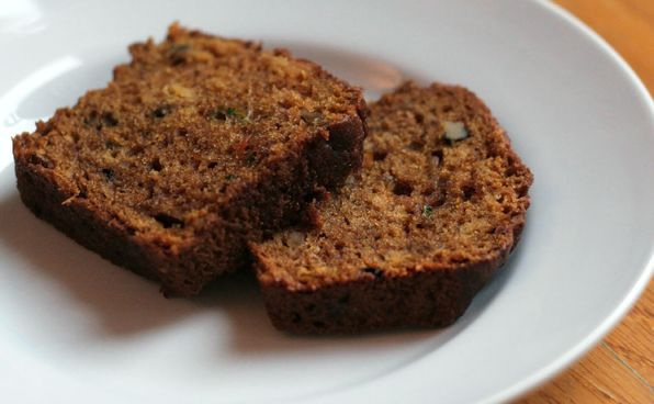 pumpkin/carrot/zucchini/olive oil bread. just made this for this week ...