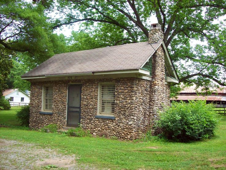 Stone cottage georgia usa small world pinterest for Small stone cottage