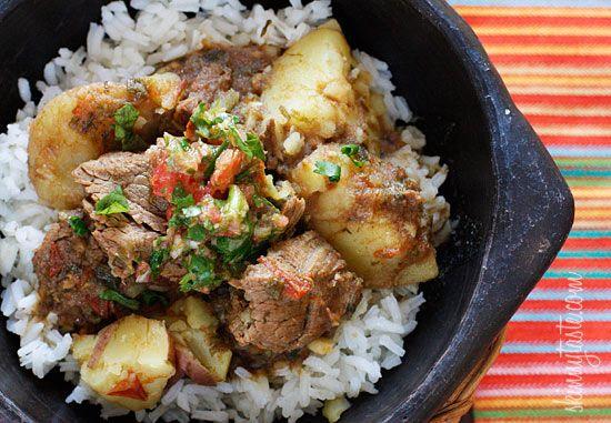 Colombian) Carne Guisada (Latin Beef Stew)