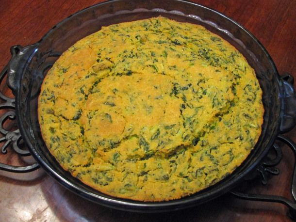 Vegan Turnip Green CornbreadGreen Turnip Recipe