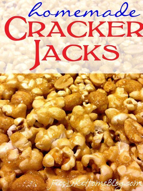 Homemade Cracker Jacks Recipe. | PINTEREST BAZAAR - NO LIMIT ADVERTIS ...