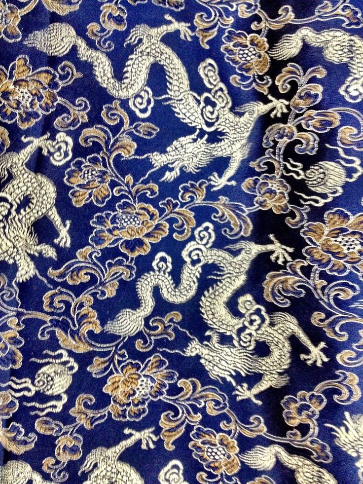Chinese fabric patterns - photo#1