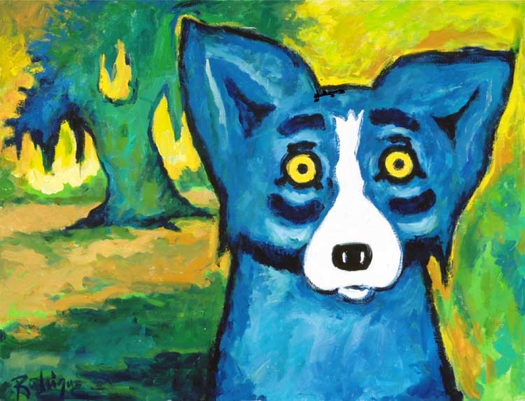 George Rodrigue The Art of George Rodrigue Book; Sign by Artist 2008