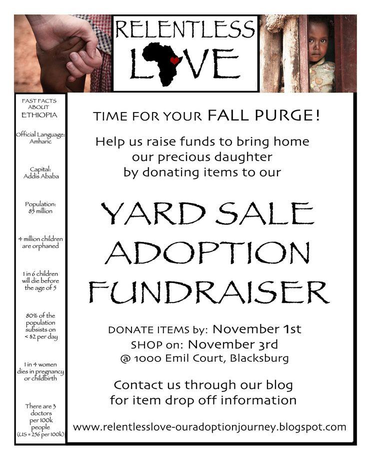 sept 9 10 rhth garage sale fundraiser
