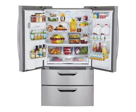 Photos Of French Door Refrigerator Double Bottom Freezer