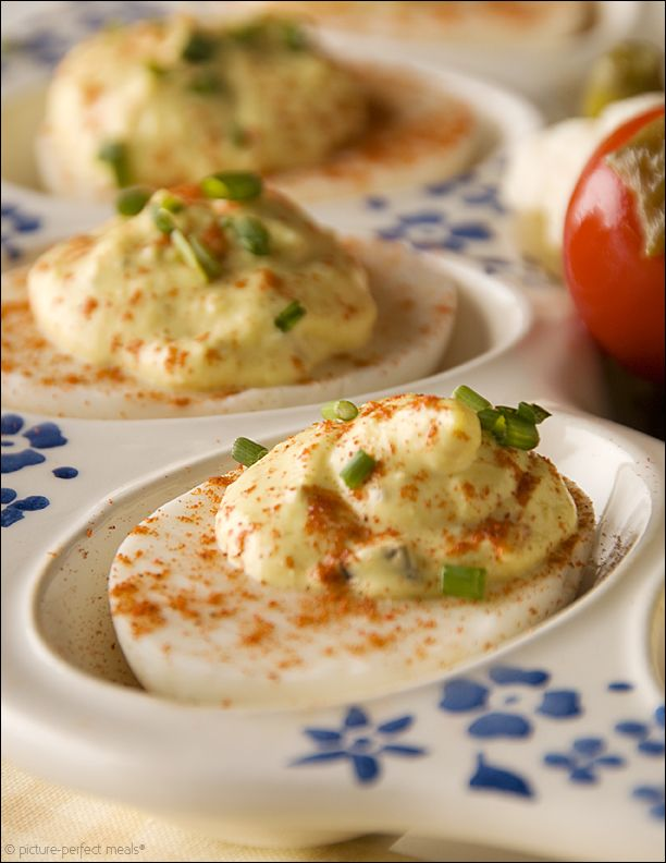 creamy-deviled-eggs - Tried these out for Fourth of July and they were ...