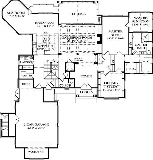Floor plan on houses pinterest shotgun house floor plans and shotguns