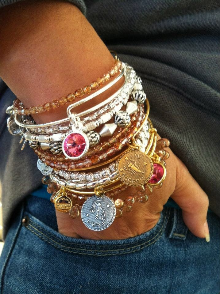 Alex and ani spring/summer jewelry