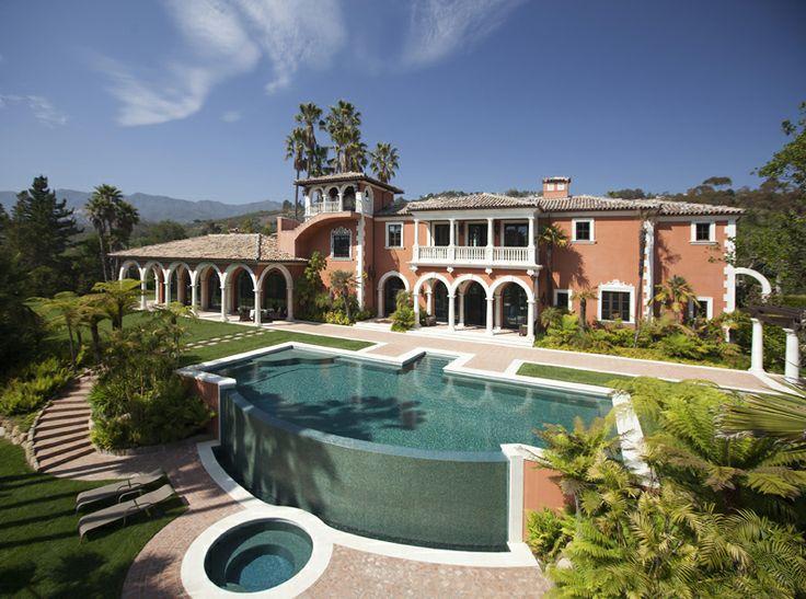 Villa In The Carpinteria Foothills Carpinteria Montecito California