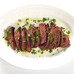 St. Anselm's Garlic Steak   Good Food   Pinterest