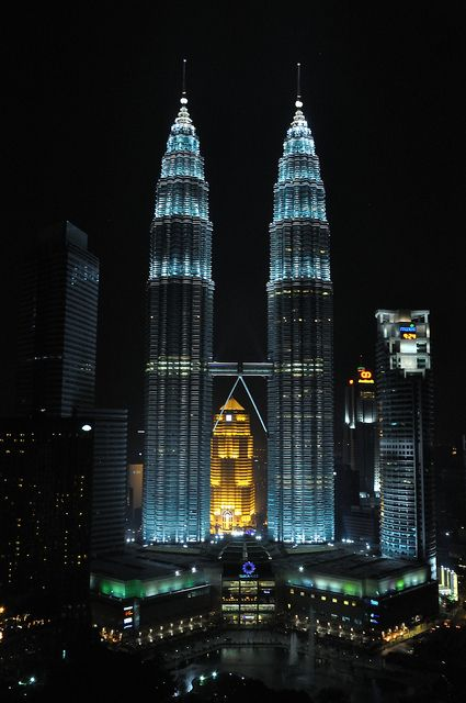 Kuala Lumpur, Malaysia, These are the Petronas Towers. We had the pleasure of living here for just under 2 years and loved it. The people are awesome.