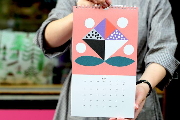 Kauniste Wall Calendar 2014 by Hanna Konola.
