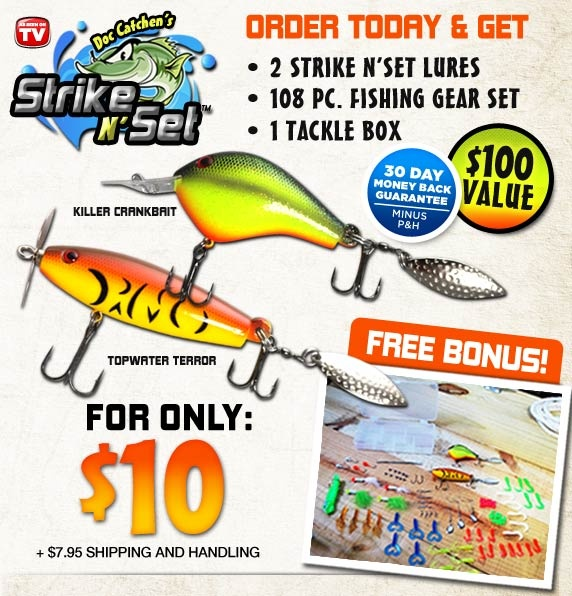 Pin by as seen on tv promoters on as seen on tv products for As seen on tv fishing lures