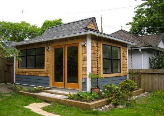Do you have a backyard studio office shed or cottage for Building an office shed in the backyard