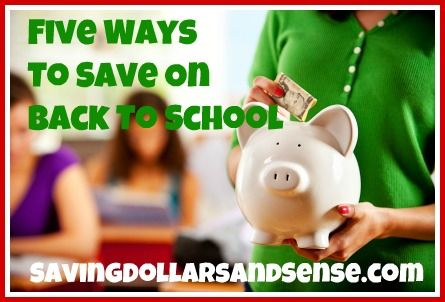 Tips to help you save on your Back to School Shopping!