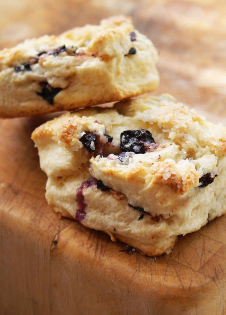 Blueberry Lemon Scones for Afternoon Tea