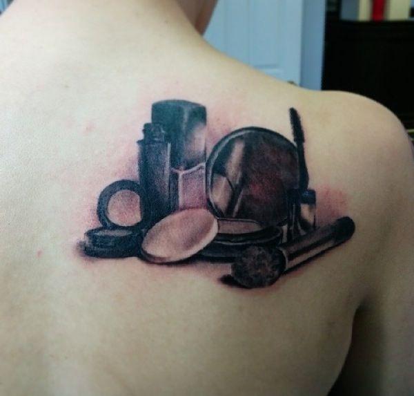 makeup artist tattoo ideas - photo #3