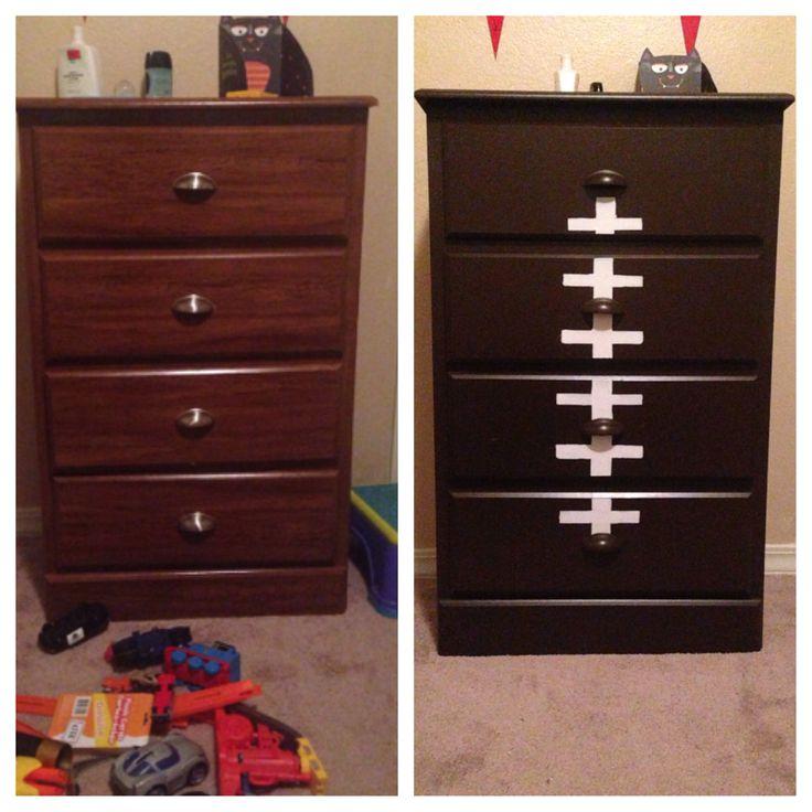 Best Football Dresser Boy's Rooms Pinterest 640 x 480