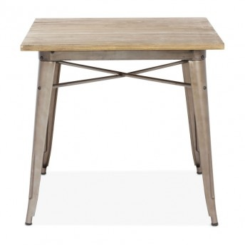 Zuo Titus Dining Table Rustic Wood Bakery Project Inspiration Pin