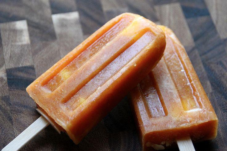 spicy mango ice pops} | Recipes - Desserts/Drinks | Pinterest