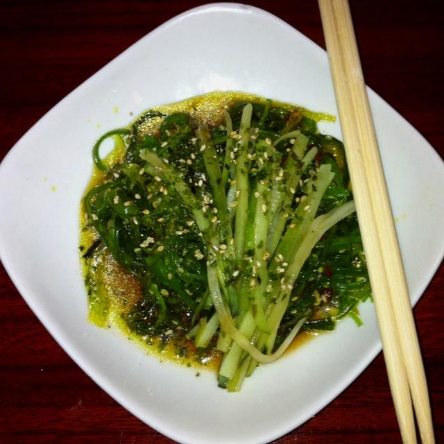Seaweed salad.. Mmmmm   Fun Food   Pinterest
