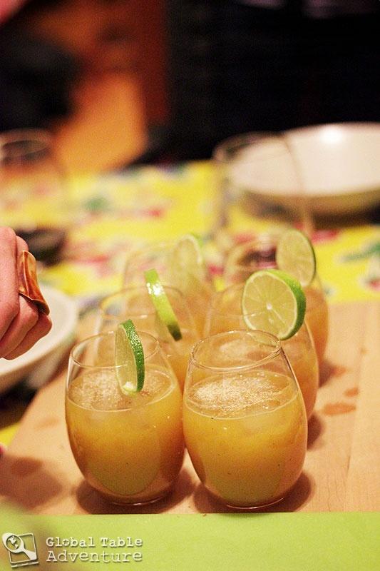 Killer Bee Cocktail with Black Pepper & Nutmeg #6ingredients #honey # ...
