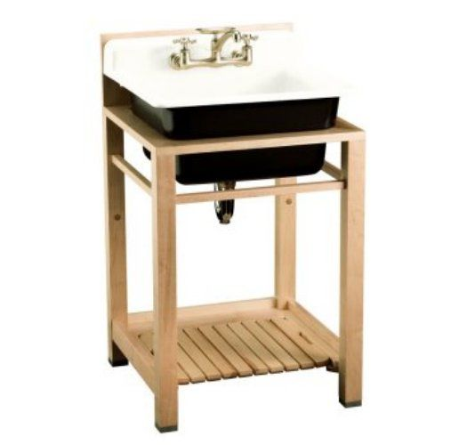 Narrow Utility Sink : More like this: utility sink , wood frames and sink .