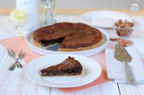 Chocolate Espresso Nut Tart | Cakes and Pies | Pinterest