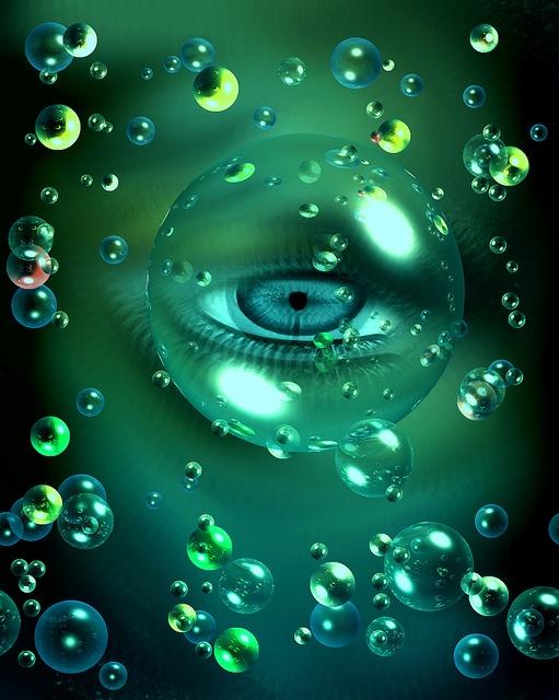 Bubble Eye.. eye c u Pinterest