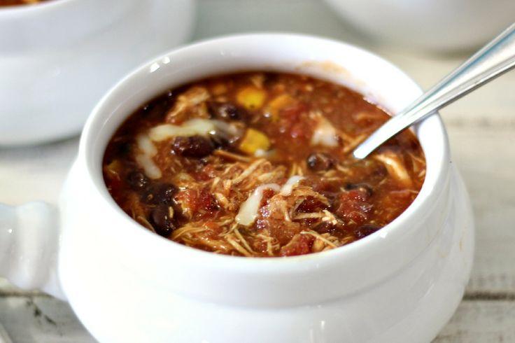 Southwestern Chicken Chili | Recipe
