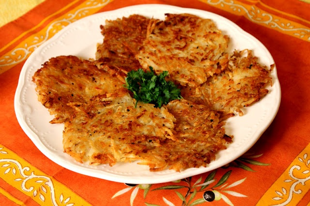 Grated Potato Pancakes | Recipes | Pinterest