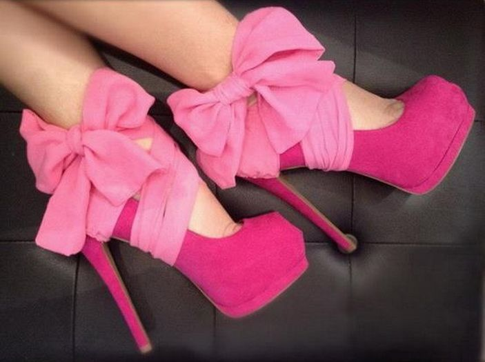 #Sexy Shoe #Accessories: Heel Condom in Hot #Pink ... #fashion   #heels   #shoes