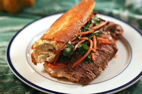 Beef banh mi | Recipes To Try | Pinterest