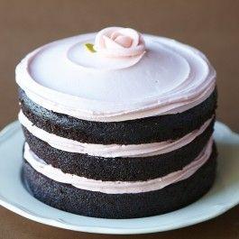 A Raspberry Tomboy cake by Miette.