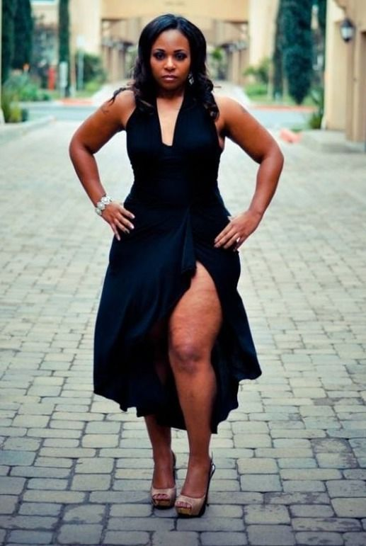 My Thick Is Beautiful: Photo | Style and Grace | Pinterest