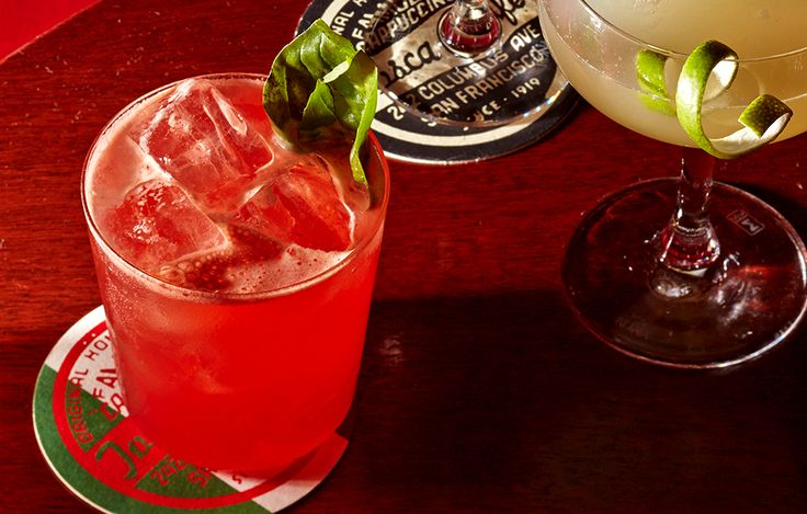 Fresh Grapefruit-Campari Cocktails Recipes — Dishmaps
