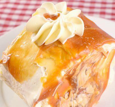 Dulce De Leche Ice Cream Cake Recipe from Grannies' Goodies