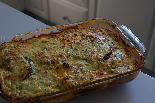 Eggplant Ricotta Bake | What's for dinner? Honestly? Probably not t…