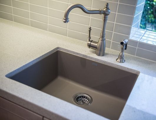 Truffle color sink home Pinterest