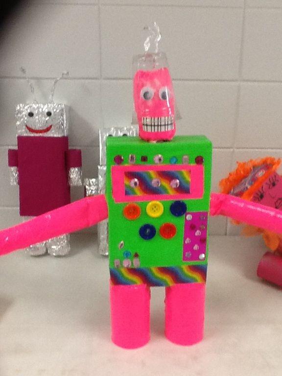 3rd grade robots.