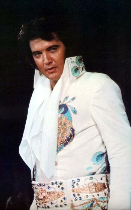 Peacock Jumpsuit Elvis Jumpsuit Days Elvis Presley